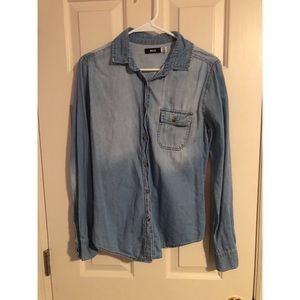 Urban Oufitters Denim Button Up Shirt